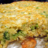 Broccoli Corn and Cheese Jiffy Mix Casserole